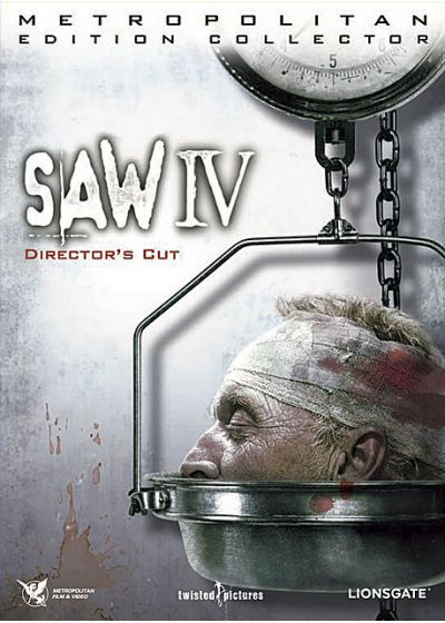 Saw IV (Édition Collector Director's Cut) - DVD