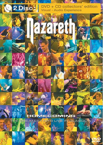 Nazareth - Homecoming (DVD + CD) - DVD