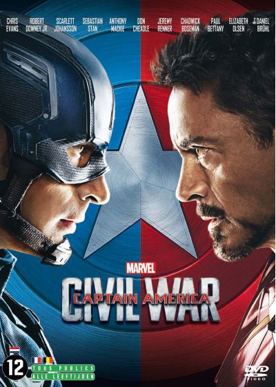 Captain America : Civil War - DVD