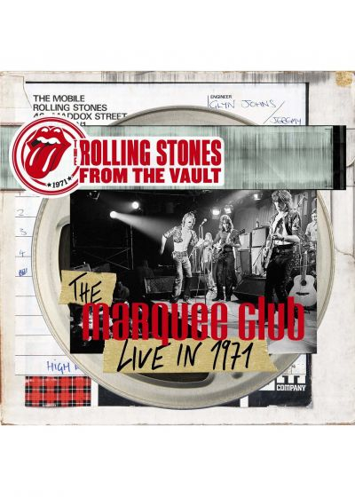 Rolling Stones - From The Vault : The Marquee Club Live in 1971 (DVD + CD) - DVD