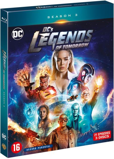 DC's Legends of Tomorrow - Saison 3 - Blu-ray