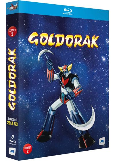 Goldorak - Coffret 2 - Épisodes 28 à 53 (Non censuré) - Blu-ray