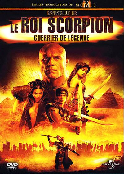 Le Roi Scorpion - Guerrier de légende - DVD