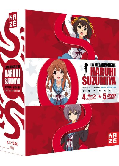 La Mélancolie de Haruhi Suzumiya - L'intégrale absolue (Édition Collector) - Blu-ray