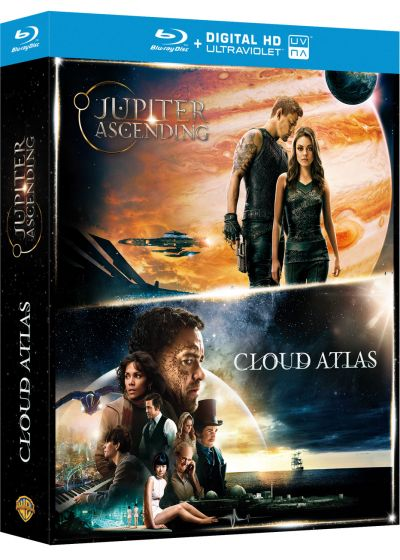 Jupiter : le destin de l'Univers + Cloud Atlas (Blu-ray + Copie digitale) - Blu-ray