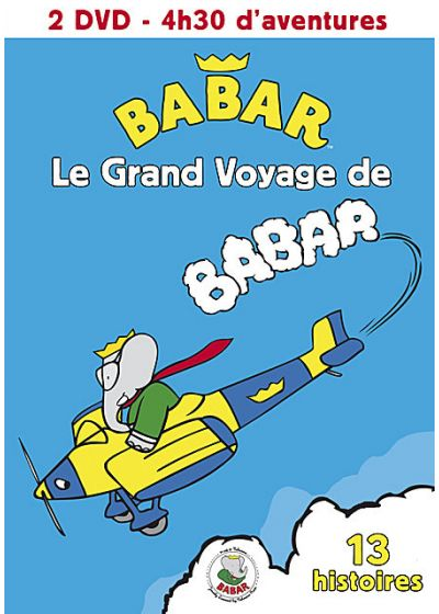 Le Grand voyage de Babar - Vol. 1 + 2 (Pack) - DVD