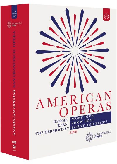 Opéras américains : Moby Dick + Show Boat + Porgy and Bess - DVD