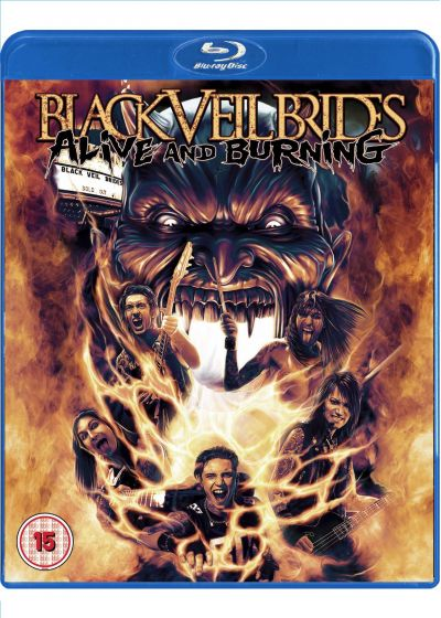 Black Veil Brides : Alive and Burning - Blu-ray