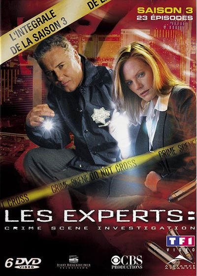Les Experts - Saison 3 - DVD
