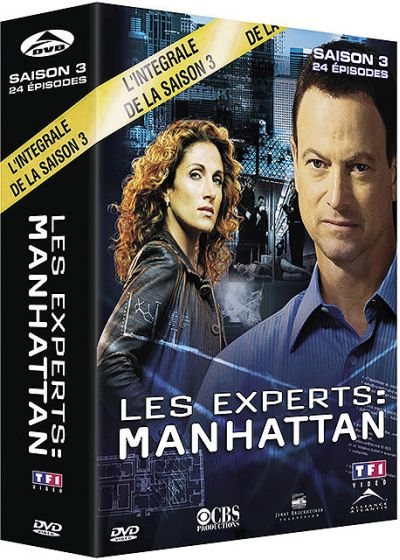 Les Experts : Manhattan - Saison 3 - DVD