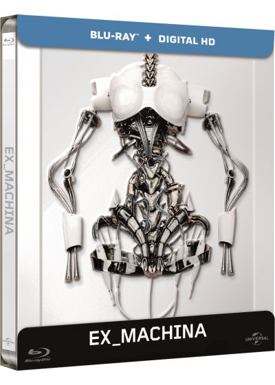 Ex Machina (Blu-ray + Copie digitale - Édition boîtier SteelBook) - Blu-ray