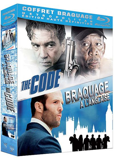Coffret Braquage : Braquage à l'anglaise + The Code (Pack) - Blu-ray