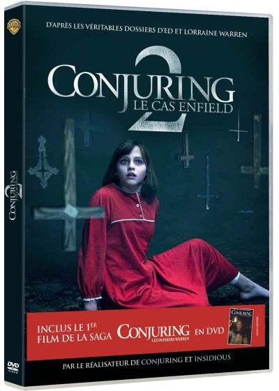 Conjuring 2 : le cas Enfield (Édition 2 DVD) - DVD