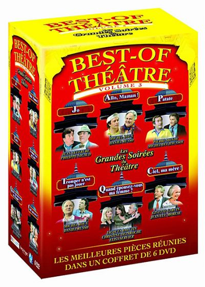 Best of Théâtre - Vo. 3 (Pack) - DVD