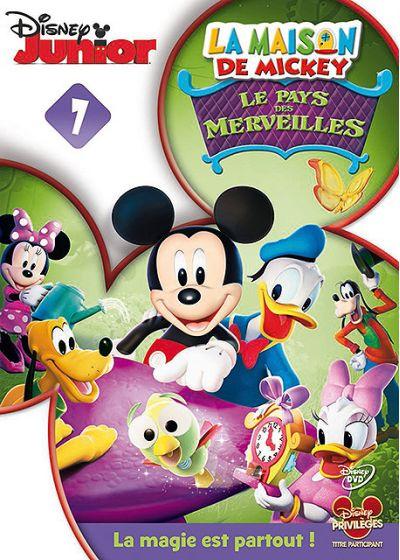 dvdfr la maison de mickey 07 le pays des merveilles dvd