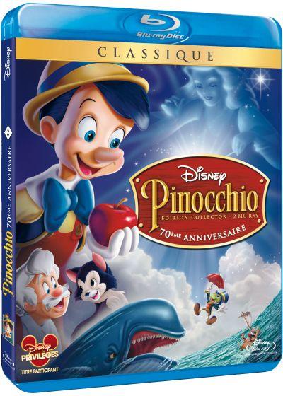 Dvdfr pinocchio dition 70 me anniversaire blu ray - Poisson rouge pinocchio ...