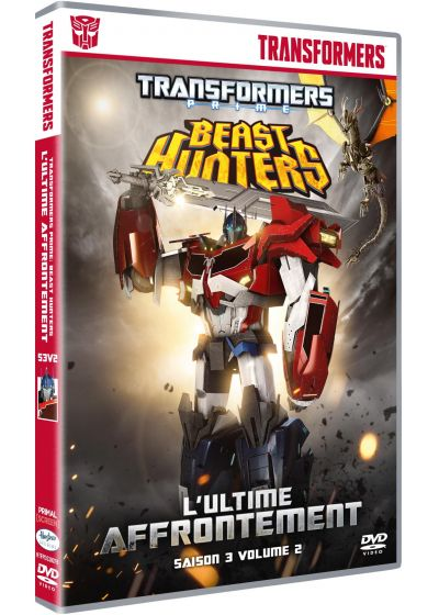 Transformers Prime - Saison 3, Vol. 2 : L'ultime affrontement - DVD