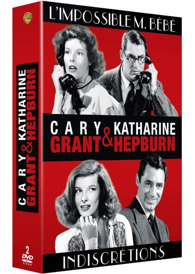 Cary Grant & Katharine Hepburn : L'impossible M. Bébé + Indiscrétions (Pack) - DVD