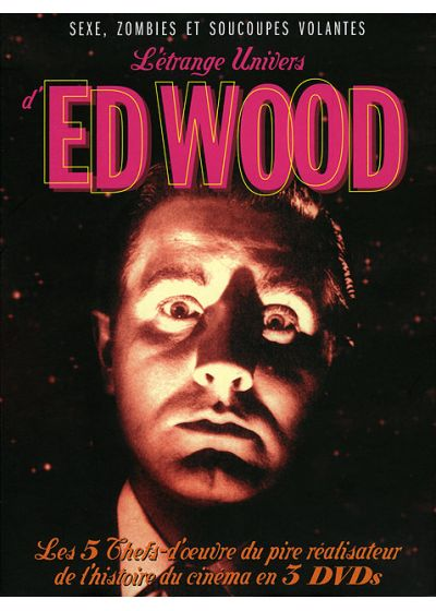 L'Étrange univers d'Ed Wood : Plan 9 from Outer Space + Glen or Glenda + Jail Bait + Bride of the Monster + Night of the Ghouls - DVD