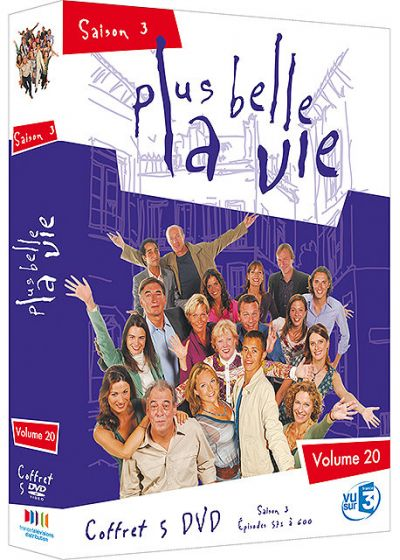 Plus belle la vie - Volume 20 - Saison 3 - DVD