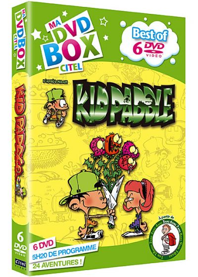 Kid Paddle : Best of - Coffret 6 DVD - DVD