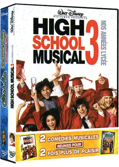 High School Musical 3 - Nos années lycée + Cheetah Girls, un monde unique (Pack) - DVD