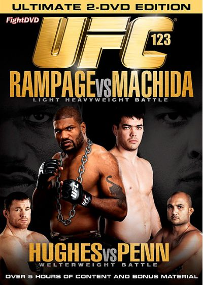 UFC 123 : Rampage vs Machida - DVD