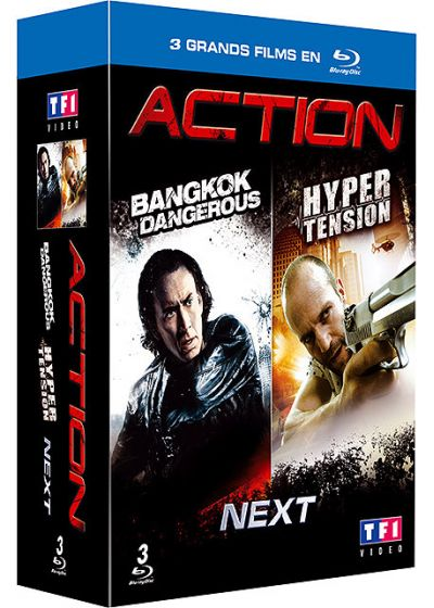 Action - Coffret : Bangkok Dangerous + Hyper tension + Next (Pack) - Blu-ray