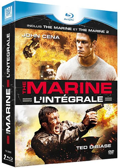 The Marine - L'intégrale 1 + 2 (Pack) - Blu-ray