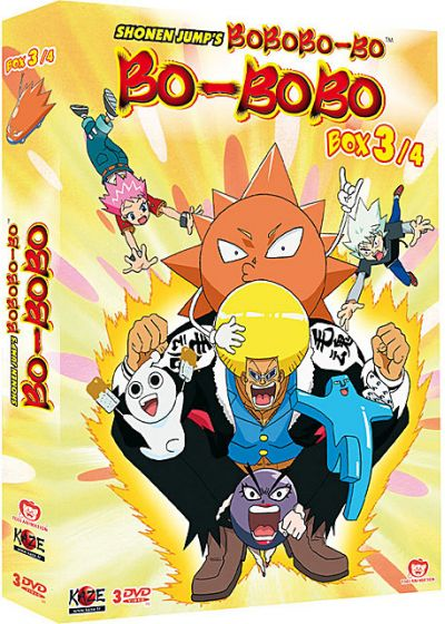 Bobobo-Bo Bo-Bobo - Box 3/4 (Édition Collector) - DVD