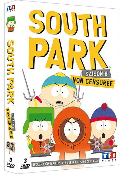 South Park - Saison 8 (Non censuré) - DVD