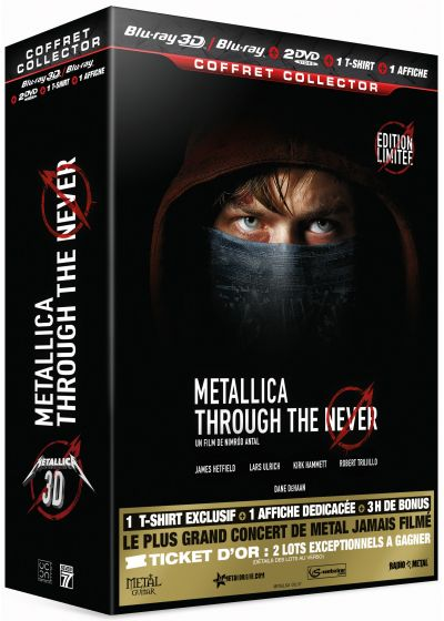 Metallica : Through the Never (Combo Collector Blu-ray 3D + Blu-ray + DVD) - Blu-ray 3D