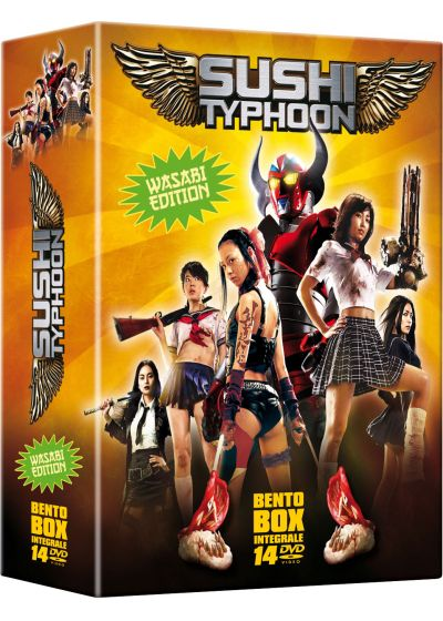 Sushi Typhoon Bento Box (Pack) - DVD