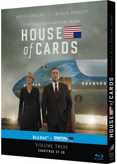 House of Cards - Saison 3 (Blu-ray + Copie digitale) - Blu-ray