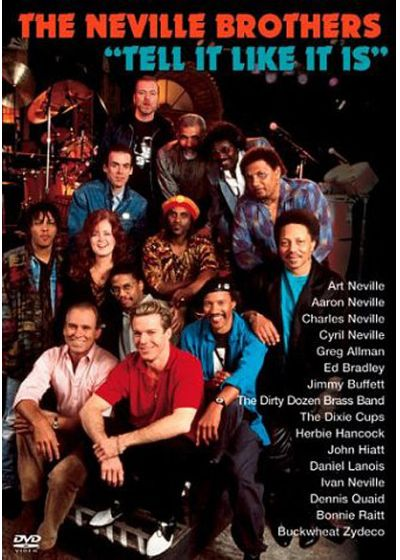 The Neville Brothers - Tell It Like It Is - DVD
