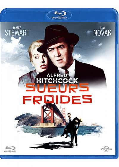 Sueurs froides - Blu-ray