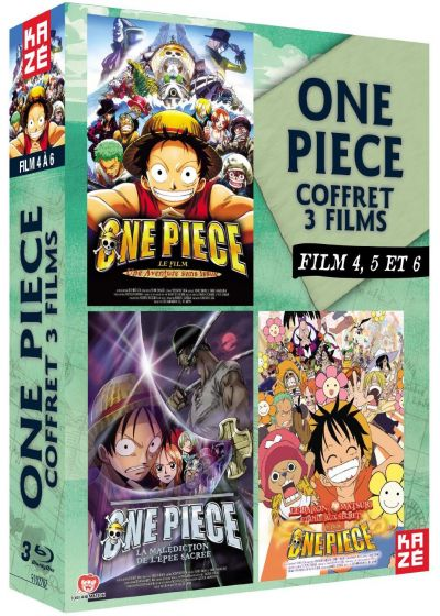 One Piece - Le Film 4, 5 et 6 - Blu-ray