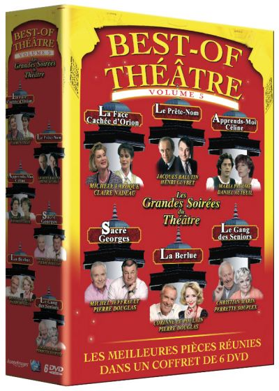 Best of Théâtre - Vol. 6 (Pack) - DVD