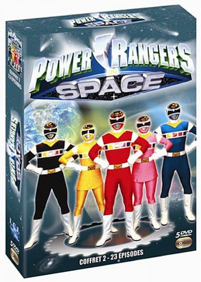 Power Rangers : Space - Coffret 2 - DVD