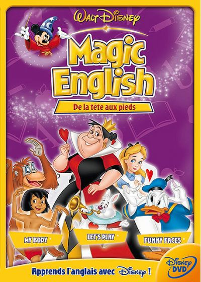 Magic English - De la tête aux pieds - DVD