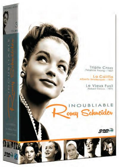 Inoubliable Romy Schneider : Triple Cross + La Califfa + Le vieux fusil (Pack) - DVD