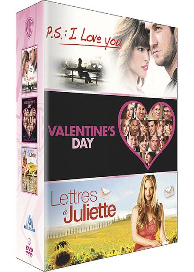 P.S. : I Love You + Valentine's Day + Lettres à Juliette (Pack) - DVD