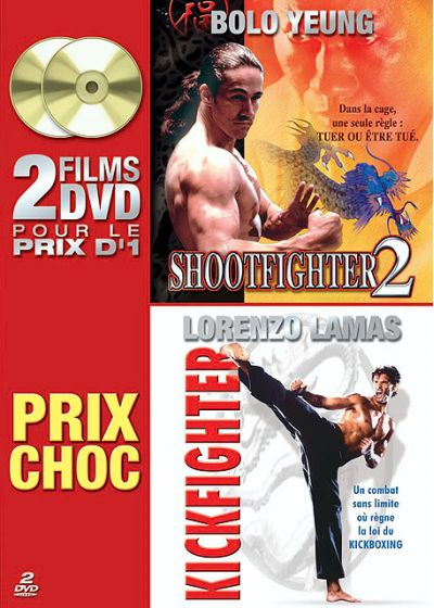 Shootfighter 2 + Kickfighter - DVD