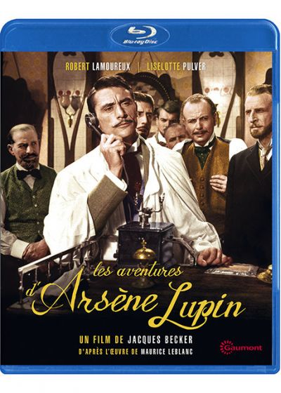 Les Aventures d'Arsène Lupin - Blu-ray