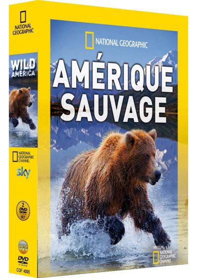 National Geographic - Amérique sauvage - DVD