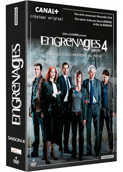 Engrenages - Saison 4 - DVD