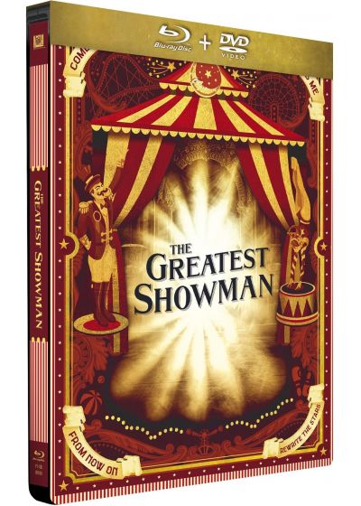 The Greatest Showman (Combo Blu-ray + DVD - Édition Limitée boîtier SteelBook) - Blu-ray