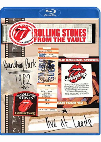 The Rolling Stones : From the Vaults Live in Leeds Roundhay Park 1982 - Blu-ray