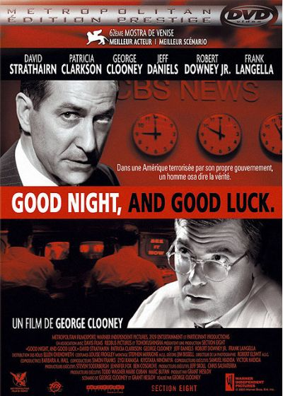 Good Night, and Good Luck. (Édition Prestige) - DVD