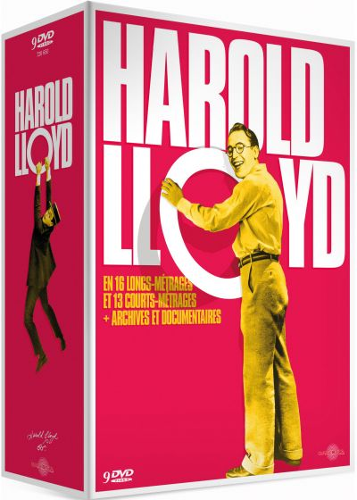 Harold Lloyd en 16 longs métrages et 13 courts métrages + archives et documentaires (Édition Collector) - DVD